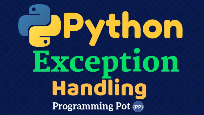 Python Exception Handling