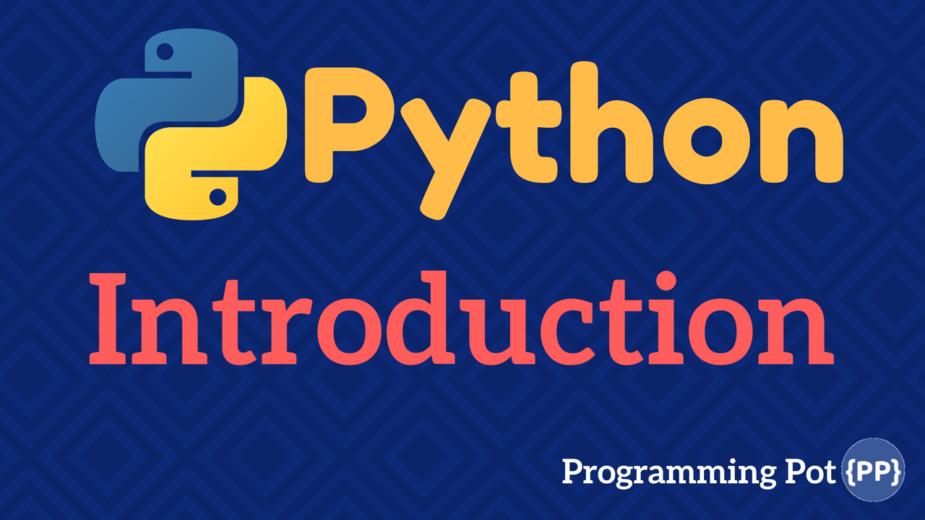 Python-Introduction-programmingpot