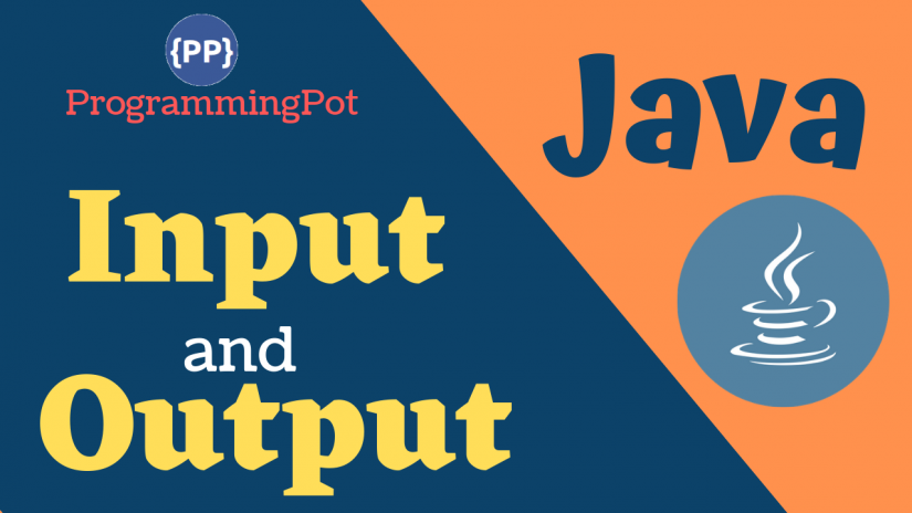Java Input and Output