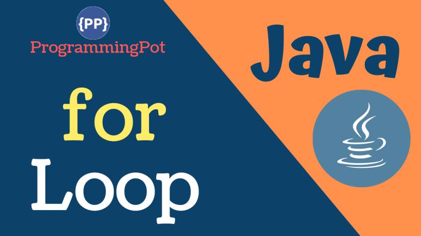 Java for Loop