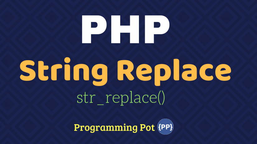 PHP String Replace