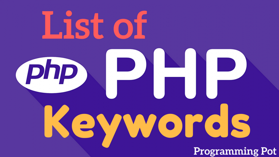 list-of-php-keywords-programming-pot