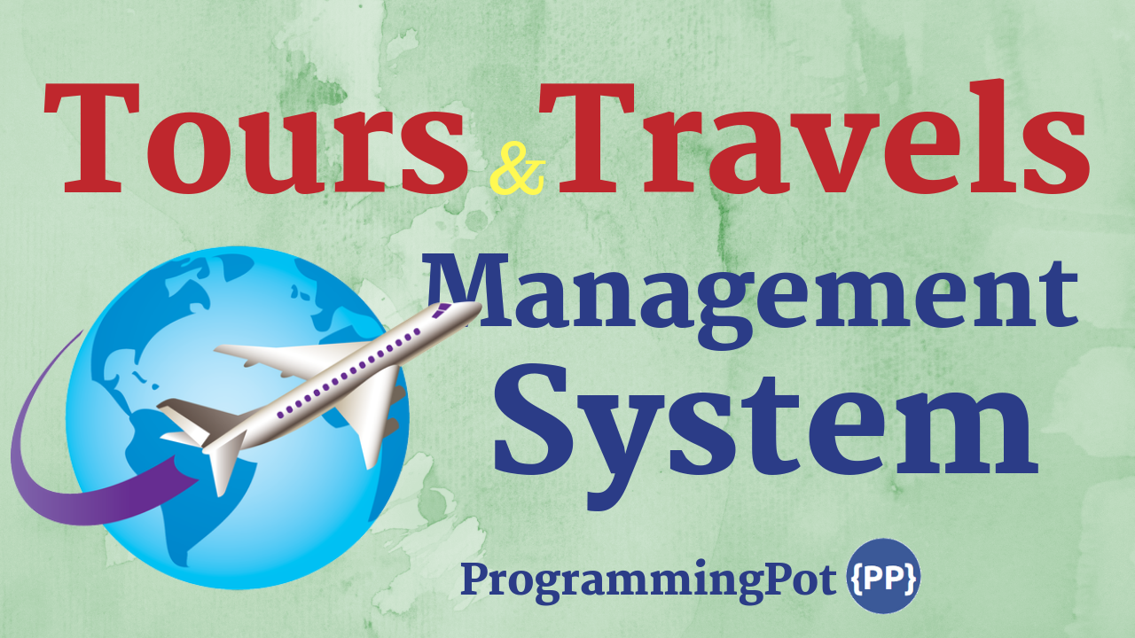 Tours and Travels Management System in Laravel