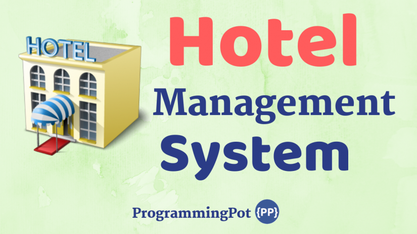 Hotel Management System in Laravel