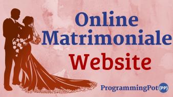 Online Matrimonial Website in Laravel