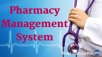 Pharmacy Management System in Laravel