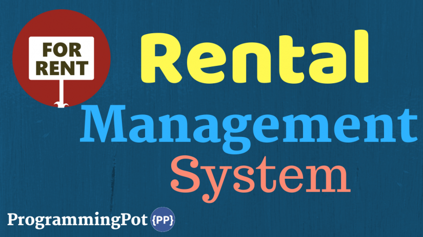 Rental Management System in Laravel