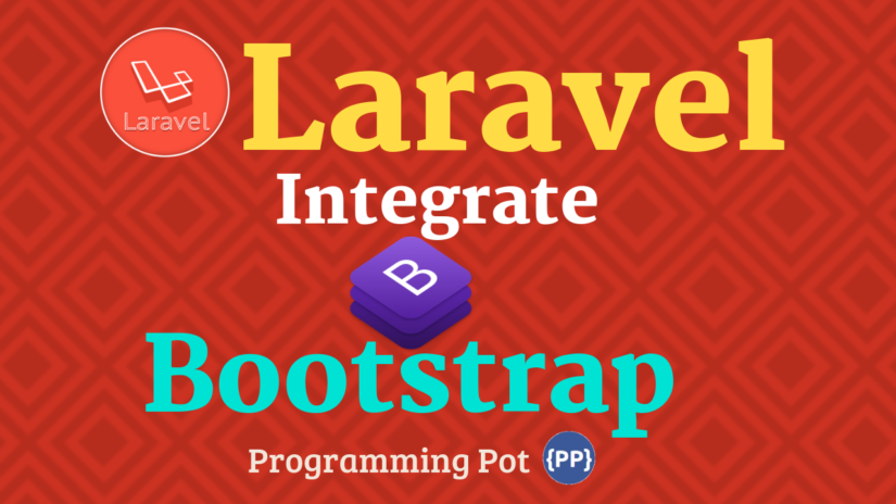 Integrate Bootstrap Template with Laravel