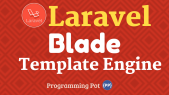 Use Laravel Blade Template Engine